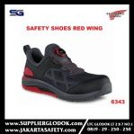 Sepatu safety red wing 6343