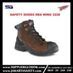 sepatu safety red wing 3228