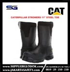 """SAFETY SHOES CATERPILLAR STORMERS 11"""" STEEL TOE"""