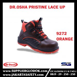 Pristine Lace Up 9272 Orange S2 Waterproof Steel Toe Cap – Dr.OSHA Safety Shoes