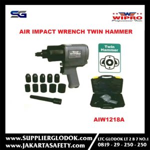Air Impact Wrench Twin Hammer 1-2 Inch Wipro AIW1218A
