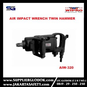WIPRO- 3/4″ AIR IMPACT WRENCH TWIN HAMMER- AIW 320