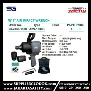 1″ AIR IMPACT WRENCH WIPRO