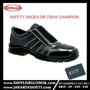 SEPATU SAFETY DR. OSHA 3177 CHAMPION SLIP ON – 37