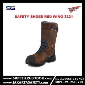 sepatu safety red wing 3221