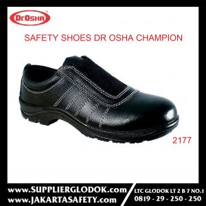 DR OSHA SAFETY SHOES TIPE Champion Slip On 2177