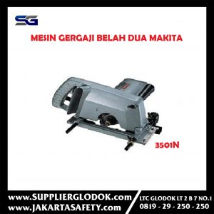 3501N Makita 3501 N Mesin Gergaji Belah Duo Groove Cutter Machine