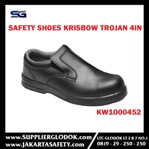 KRISBOW SAFETY SHOES TROJAN 4IN (39/6) Item #KW1000452
