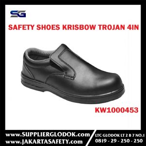 KRISBOW SAFETY SHOES TROJAN 4IN (40/6.5) Item #KW1000453