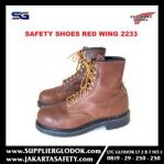 SAFETY SHOES RED WING MEN'S 8-INCH BOOT BROWN 2233