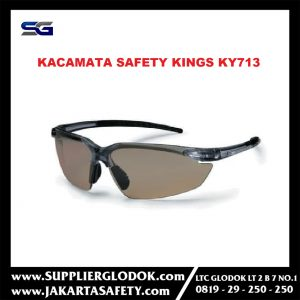 Kaca Mata Safety King Kings KY713/Safety Glasses Kings KY 713 Clear