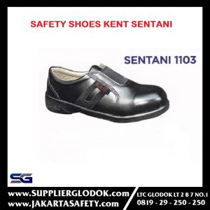 Sepatu Safety Ladies Sentani – Outsole Rubber – KENT – 37