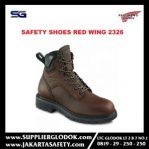 SAFETY SHOES RED WING WOMEN'S 6-INCH BOOT BROWN 2326