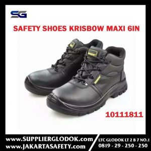 SEPATU KRISBOW MAXI 6 INCH, SAFETY SHOES KRISBOW MAXI 6 INCH
