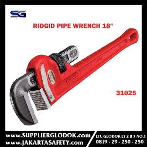 RIDGID Pipe wrench Heavy Duty 18′-31025
