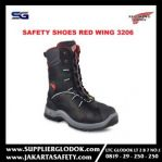 Redwing 3206 Safety Shoes Red Wing 3206 Original