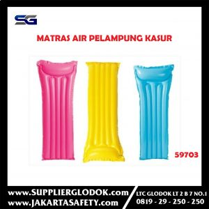 Matras Air Pelampung Kasur Intex Single floating mat 59703