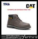 SAFETY SHOES CATERPILLAR OUTBASE STEEL TOE GRAY