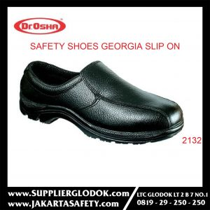DR OSHA SAFETY SHOES TIPE Georgia Slip On 2132