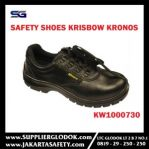 KRISBOW SAFETY SHOES KRONOS 4IN (38/5) Item #KW1000730