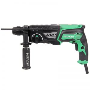HITACHI Hammer Drill 28mm 3 Mode Action double insulation