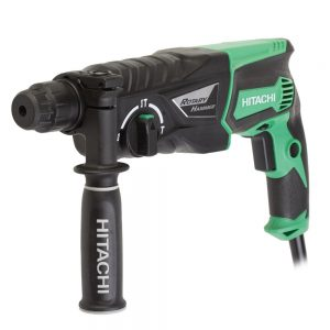 HITACHI Hammer Drill 26mm 3 Mode Action double insulation