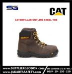 SAFETY SHOES CATERPILLAR OUTLINE STEEL TOE