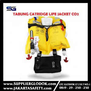 Tabung Catridge CO2 Cylinder Inflatable Life Jacket 33gr