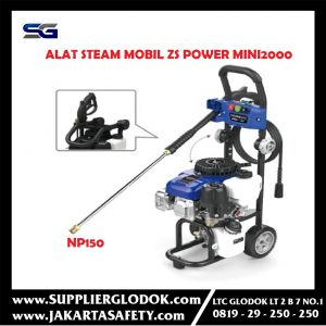 High Pressure Sprayer Alat Steam Mobil Motor ZS Power MINI2000