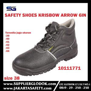 Sepatu Safety Shoes Arrow 6IN Uk.38-44 Krisbow 10111771