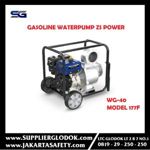 Pompa Alkon Sedot Banjir Gasoline Waterpump ZS Power WG40 4inch