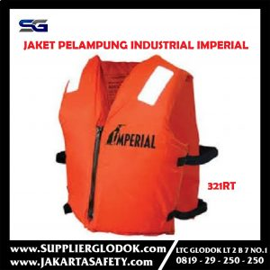 Jaket Pelampung Industrial With Pocket Imperial 321RT Bersertifikat