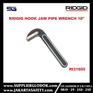 Ridgid 31605 Hook Jaw for Pipe Wrench 10″