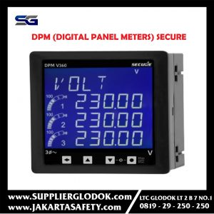 DPM (Digital panel meters) SECURE
