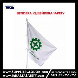 BENDERA K3 / BENDERA SAFETY FIRST STANDAR DEPNAKER
