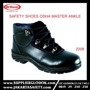 DR OSHA SAFETY SHOES TIPE Master Ankle Boot 2208 – Hitam, 38