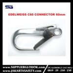 C60 Double gate automatic connector 60mm Edelweiss