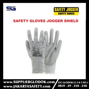 SARUNG TANGAN SAFETY JOGGER SHIELD GLOVES anti potong cut resistent