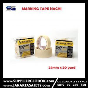 Masking Tape/Isolasi kertas NACHI 24mm x 20yard