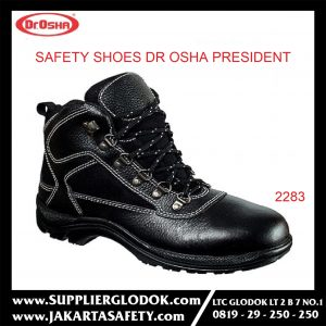 DR OSHA SAFETY SHOES TIPE President Ankle Boot 2283