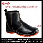 DR OSHA SAFETY SHOES TIPE Cozy Zip Ankle Boot 9298 – Hitam, 35