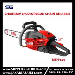Gergaji Mesin / Chainsaw EFCO MTH550 + Oregon Chain and Bar 22 inch HN