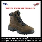 sepatu safety red wing 4216