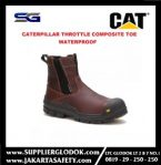 SAFETY SHOES CATERPILLAR THROTTLE COMPOSITE TOE WATERPROOF