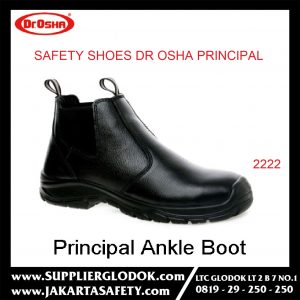 DR OSHA SAFETY SHOES TIPE Principal Ankle Boot 2222 – Hitam, 38