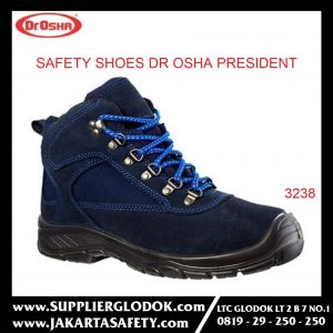 Sepatu safety shoes DR. OSHA 3238 PRESIDENT ANKLE BOOT – 37