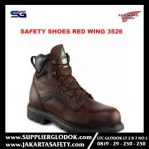 sepatu safety red wing 3526