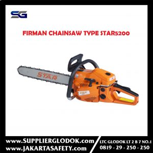 FIRMAN CHAINSAW TYPE STAR5200