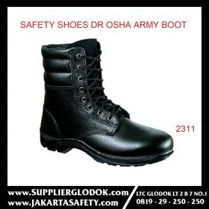 DR OSHA SAFETY SHOES TIPE Army Boot 2311