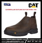 SAFETY SHOES CATERPILLAR OUTLINE SLIP ON STEEL TOE
